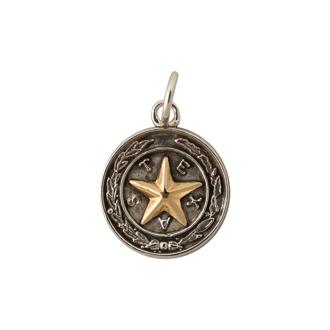 Capitol Chandelier Motif Sterling Silver Charm