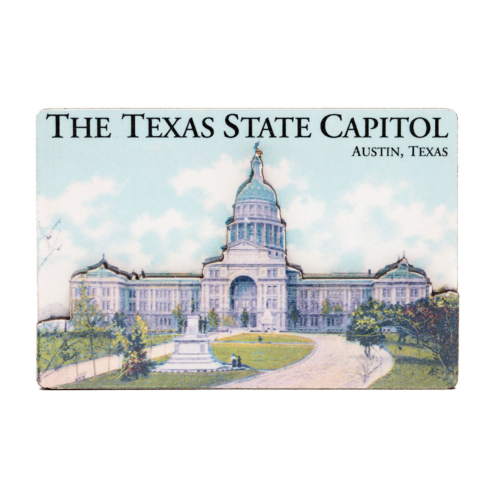 Texas Capitol Dual Level Magnet