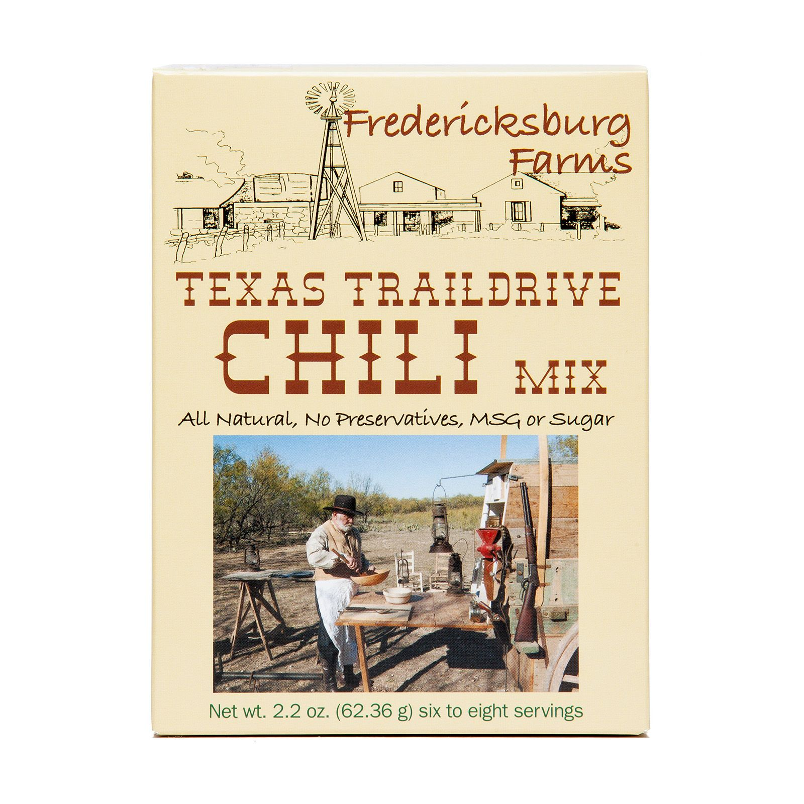 Fredericksburg Farms Texas Trail Drive Chili Mix