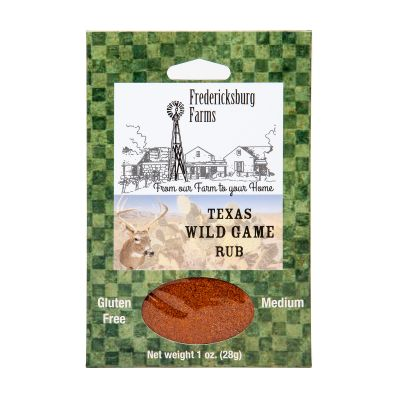 Fredericksburg Farms Texas Wild Game Rub