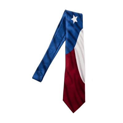 Texas State Flag Silk Tie