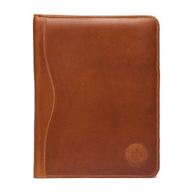 Leather Padded Cover Portfolio