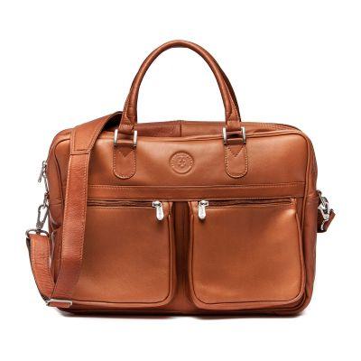 Leather Overnight Briefcase