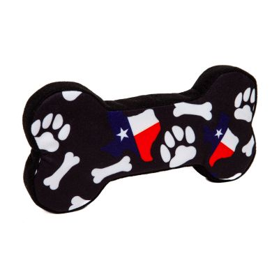 PrideBites™ Texas Bones and Paws Dog Chew Toy
