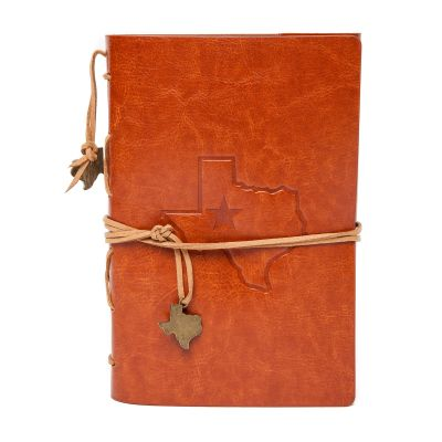 Texas Embossed Leatherette Journal