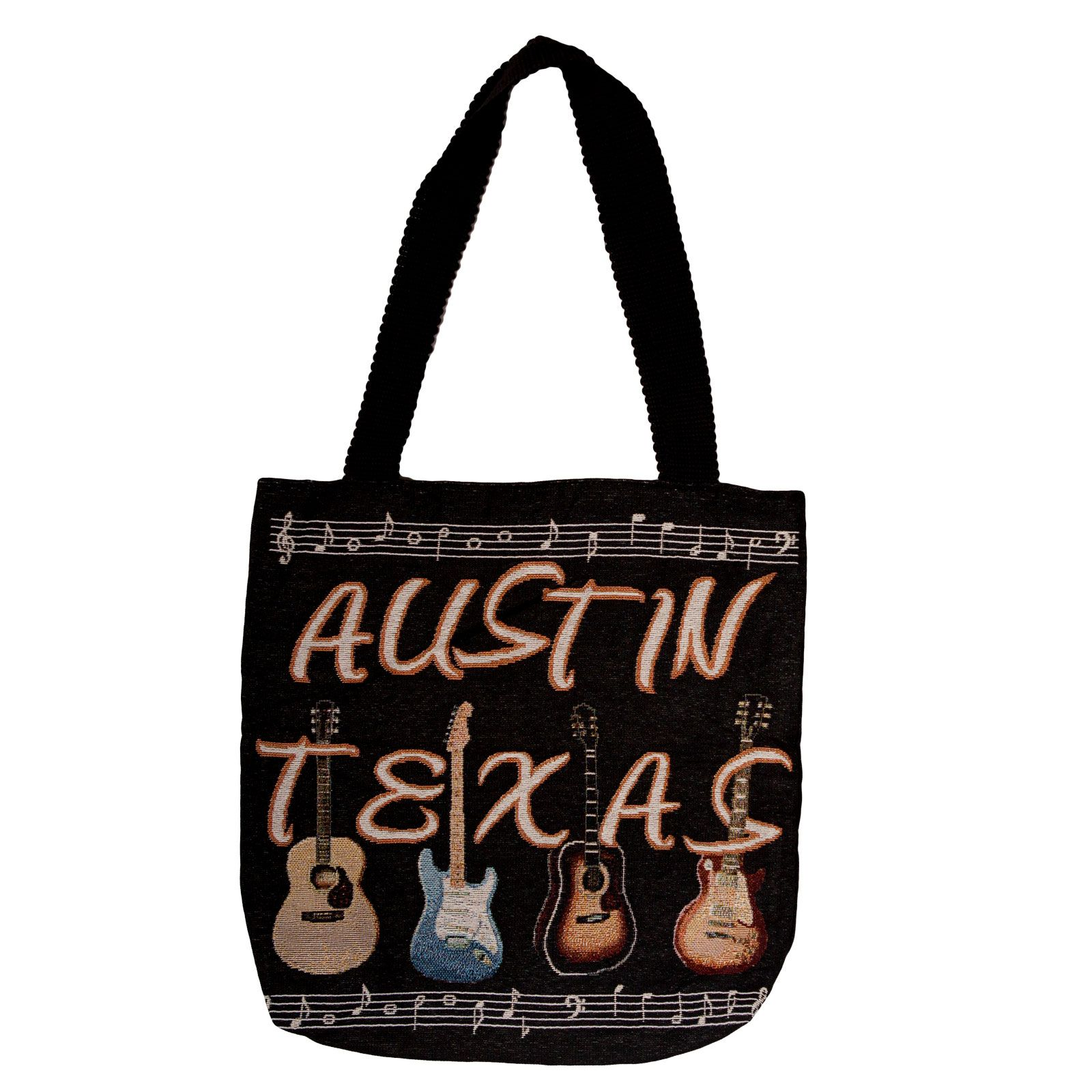 Austin Guitar Tote Bag