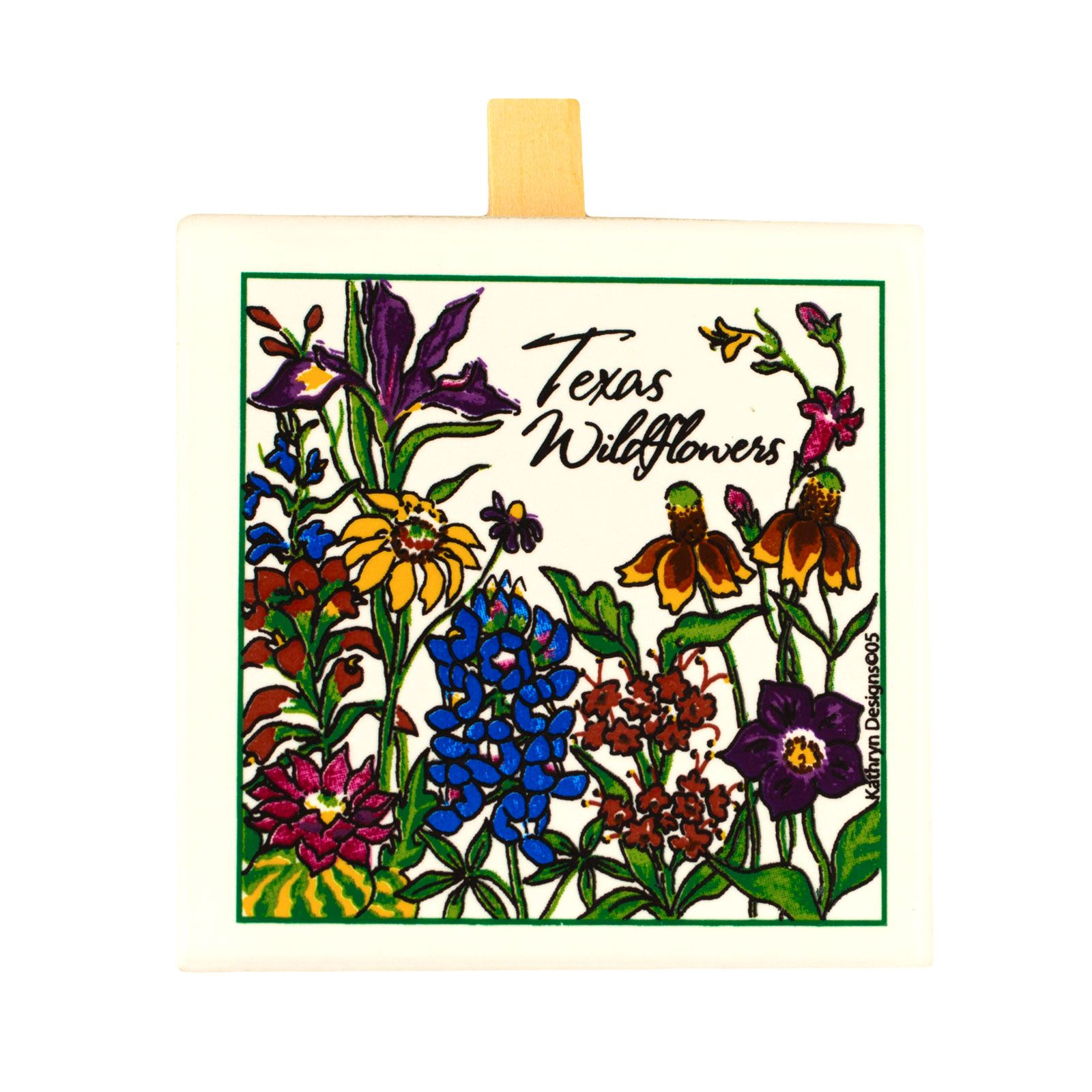Texas Wildflowers Message Clip