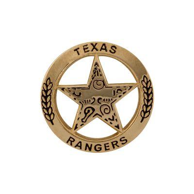 Texas Ranger Gold Tone Lapel Pin