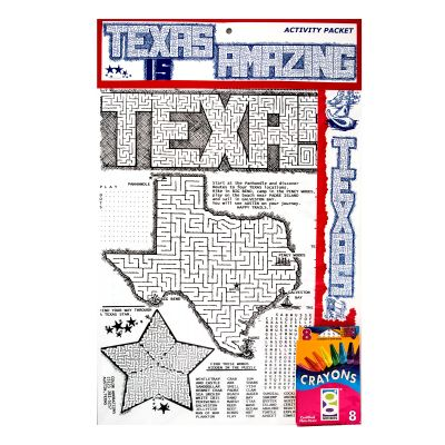Texas is Amazing Kids Activity Kit