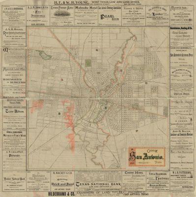 J.J. Olsen and Son City of San Antonio, 1889