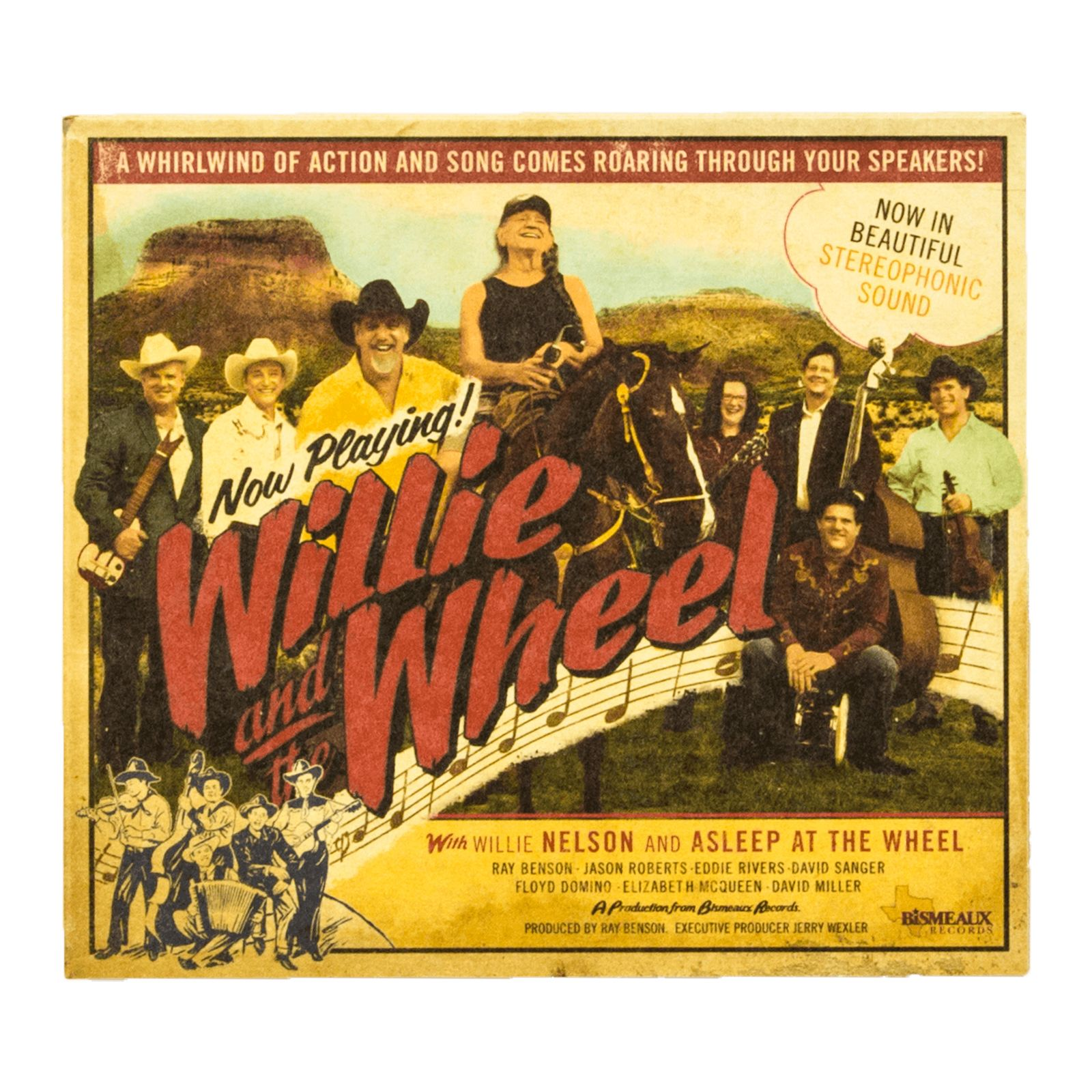 Willie and the Wheel CD