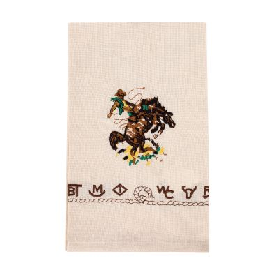Bronco Buster Cotton Kitchen Towel