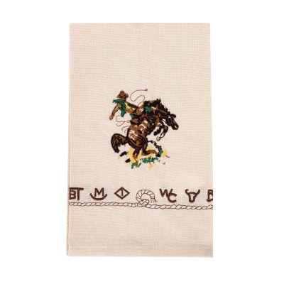 Bronco Buster Cotton Kitchen Towel