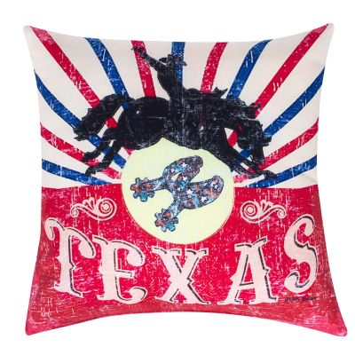 Texas Rodeo Accent Pillow