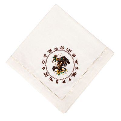 Bronco Buster Cotton Napkin