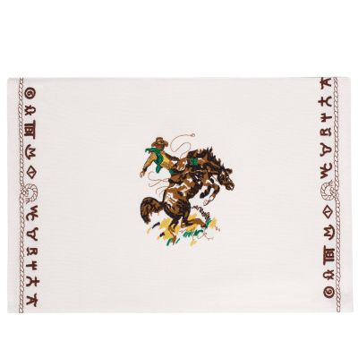 Bronco Buster Cotton Placemat