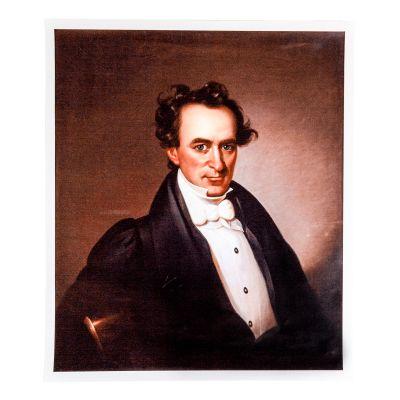 Portrait of Stephen F. Austin Print