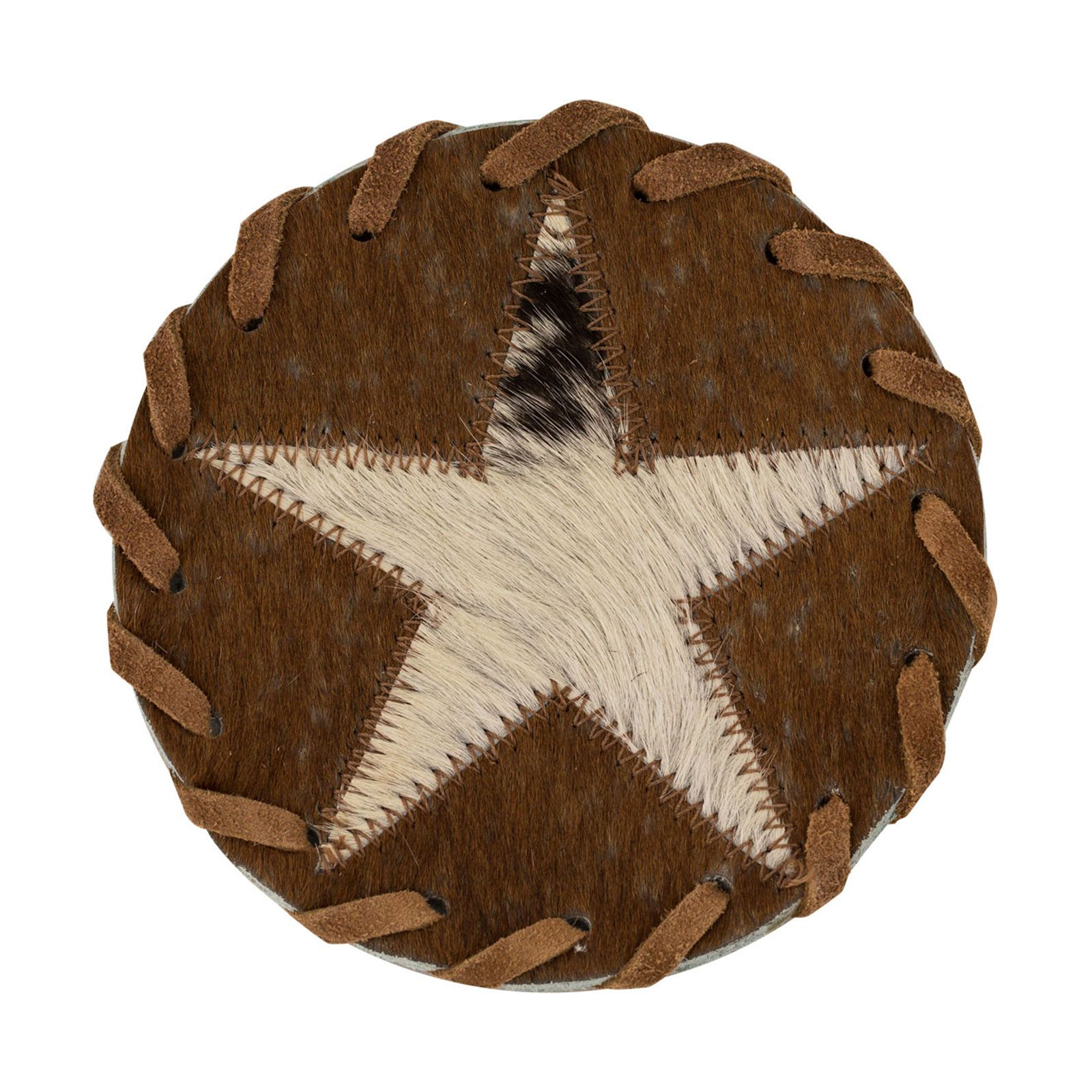 Lone Star Leather Coaster