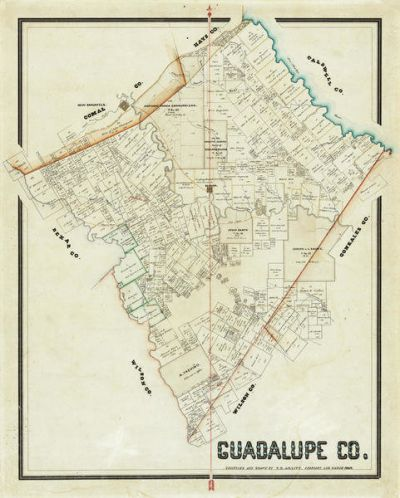 F. H. Arlitt Guadalupe County, 1869