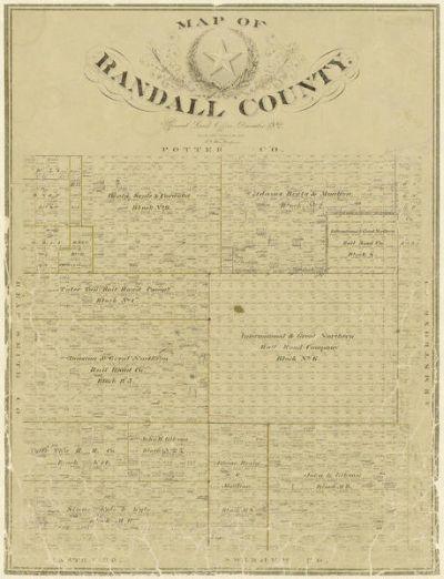 F. G. Blau Randall County, 1892