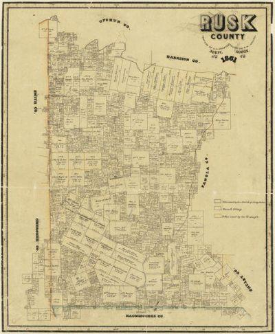F. H. Arlitt Rusk County, 1861
