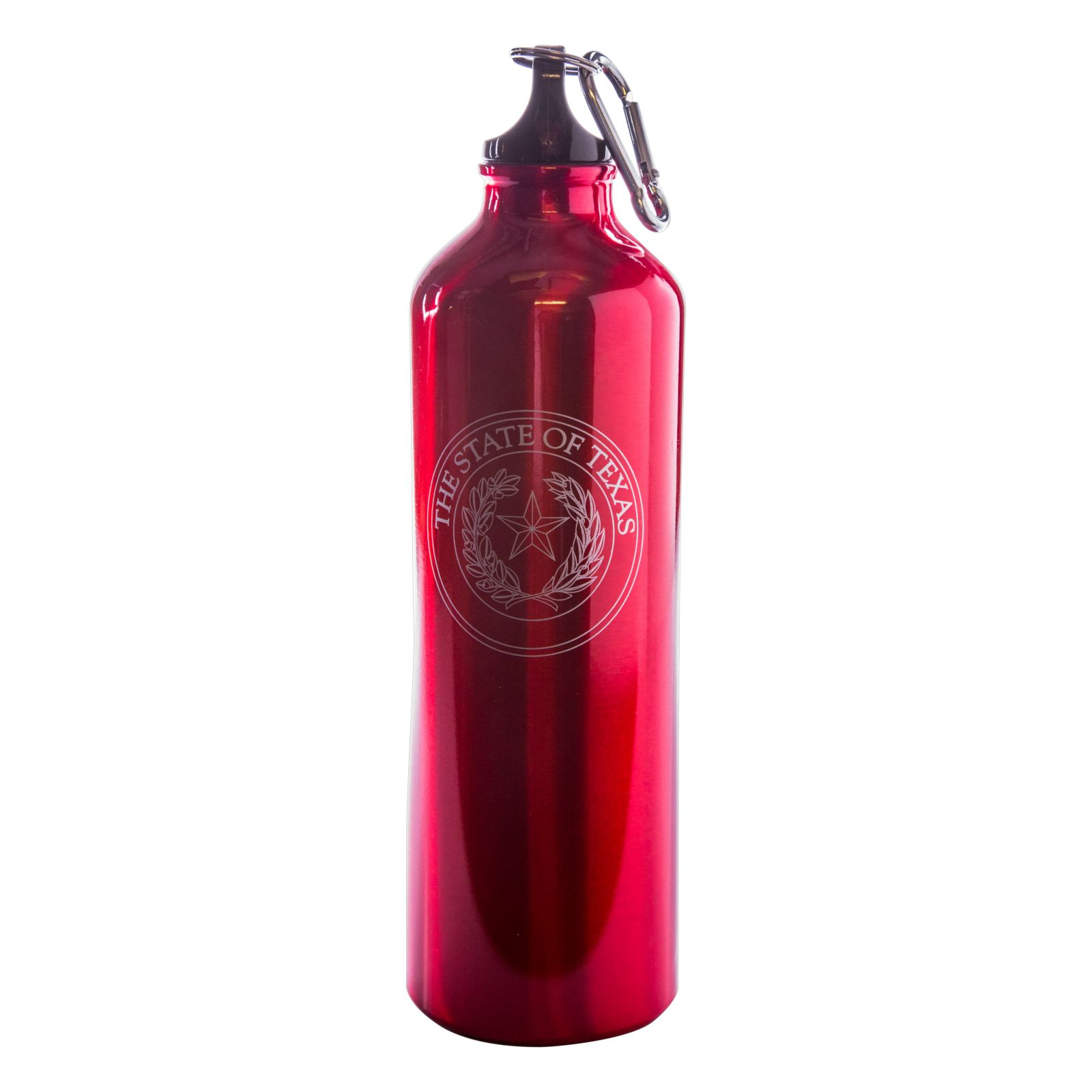 Red State Seal Water Bottle