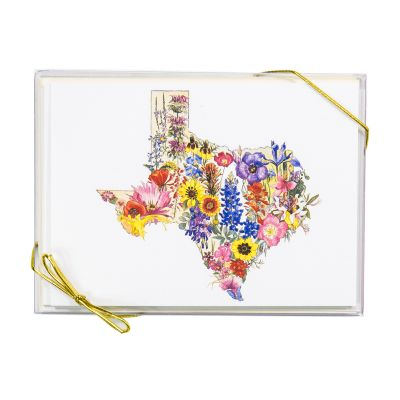 Texas Wildflowers Set of 8 Notecards and Envelopes