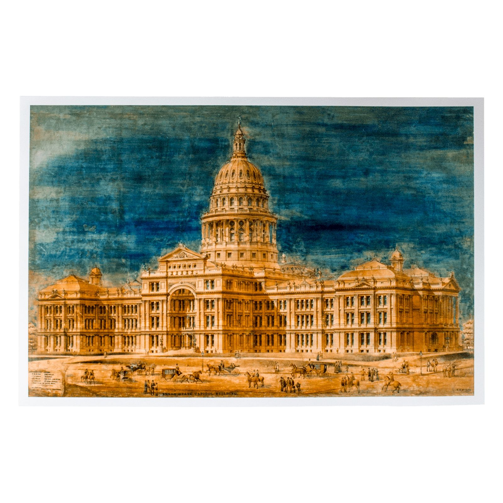 Capitol Watercolor