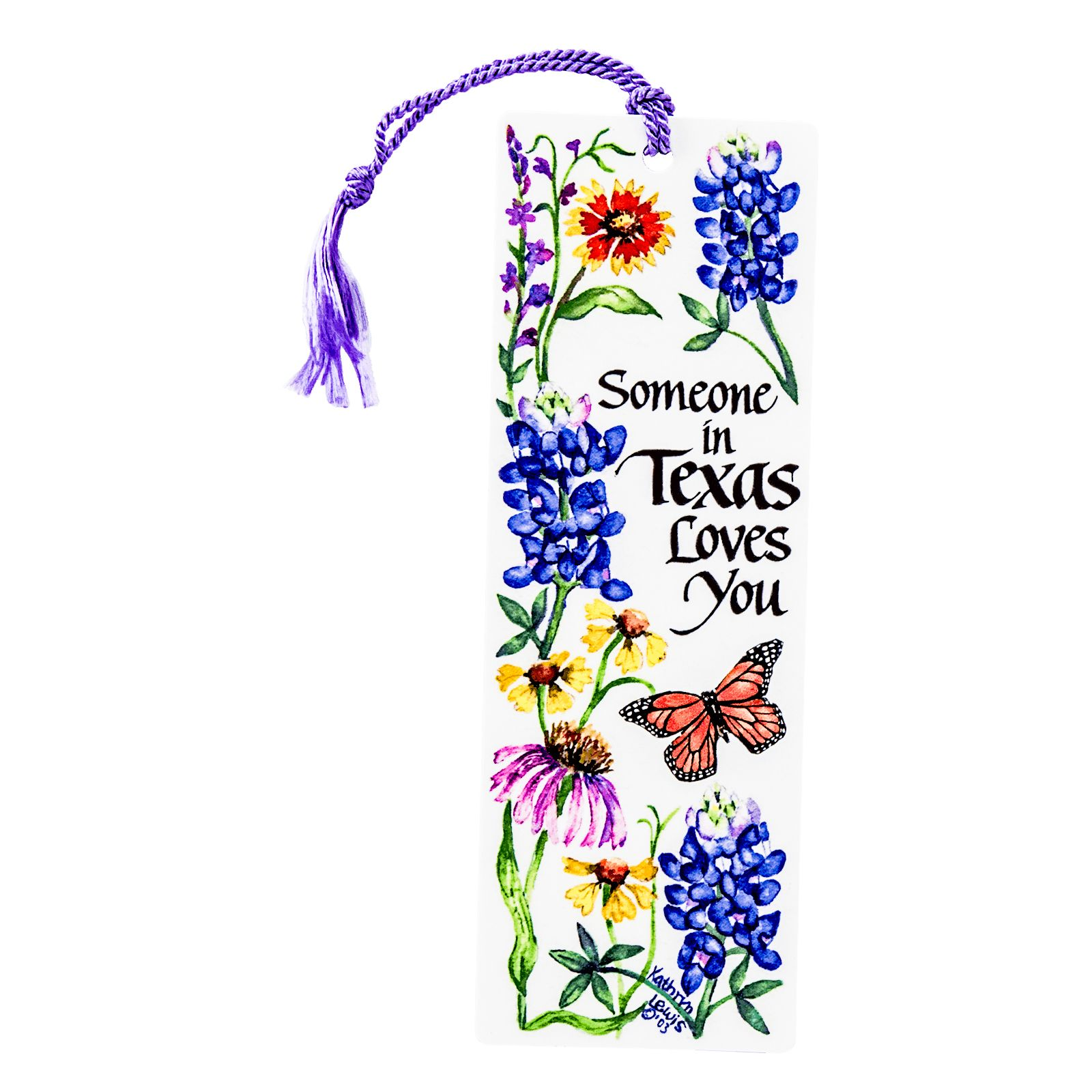 Someone In Texas Loves You Bookmark
