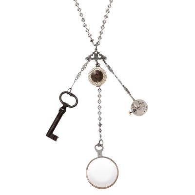 My Mother's Buttons Chatelaine Necklace
