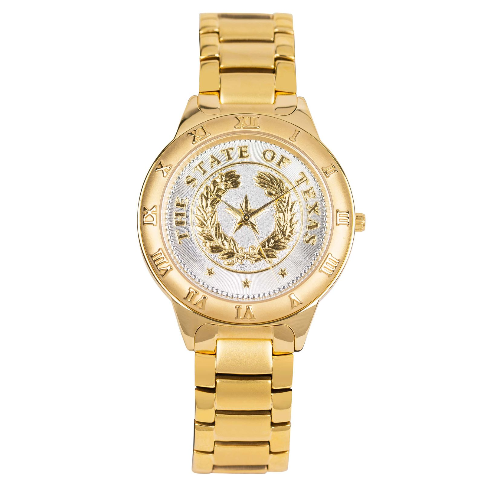 State Seal Gold Large Watch