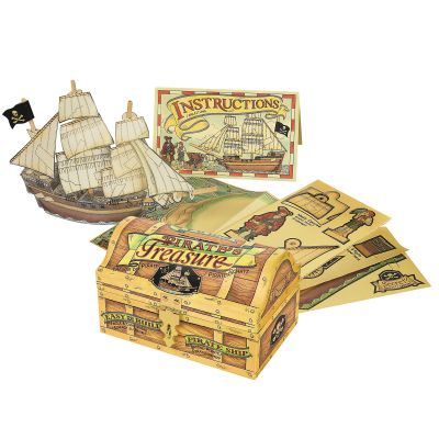 Pirate's Treasure Kid's Activity Set