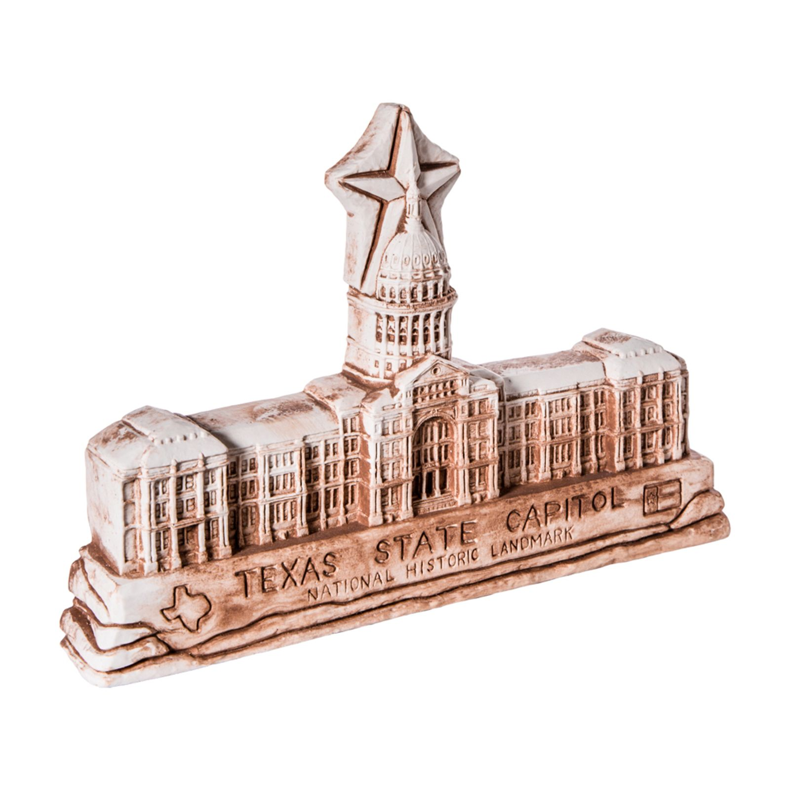 Texas Capitol Large Clay Replica