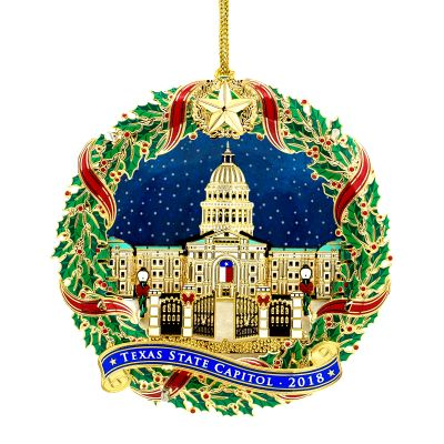2018 Texas Capitol Ornament