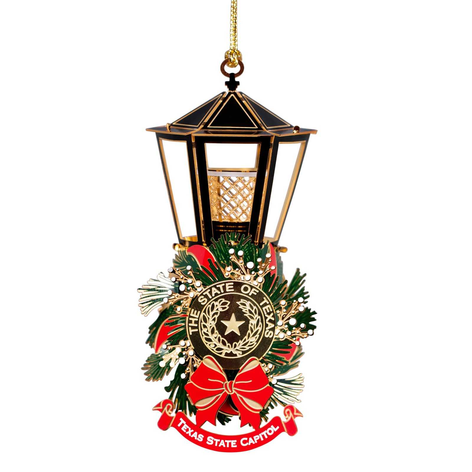 Capitol Lantern Lighted Ornament