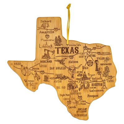 Destination Texas Bamboo Cutting Board