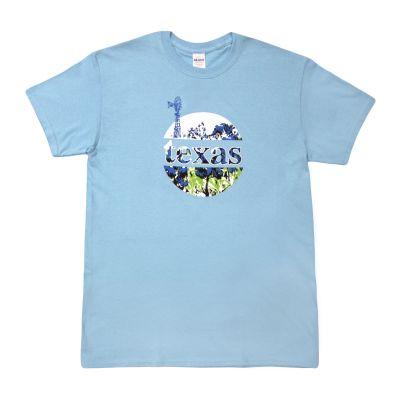 Windmill and Bluebonnets T-Shirt