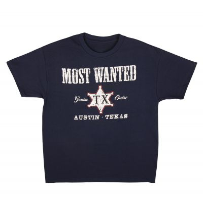 Most Wanted Outlaw Youth T-Shirt