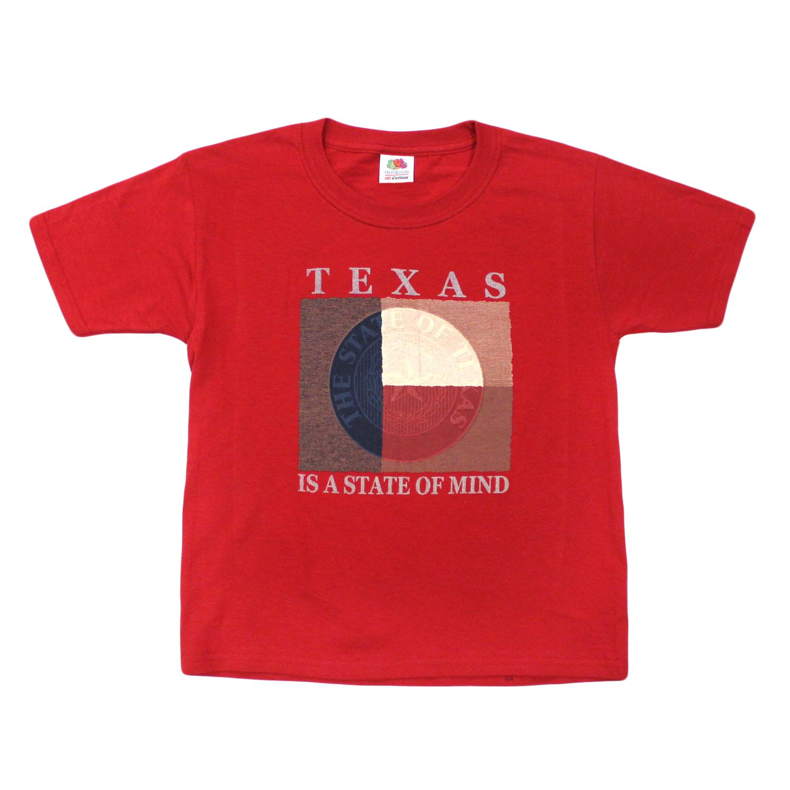 Texas is a State of Mind Youth T-Shirt