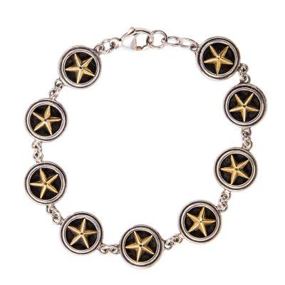 Lone Star Sterling Silver Bracelet