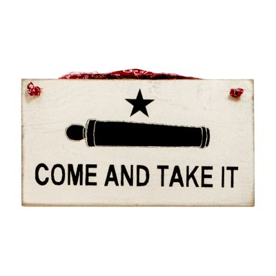 Gonzales Flag Wooden Wall Plaque