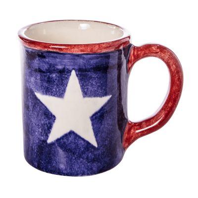 Brookwood Community Pottery Lone Star Ceramic Mug
