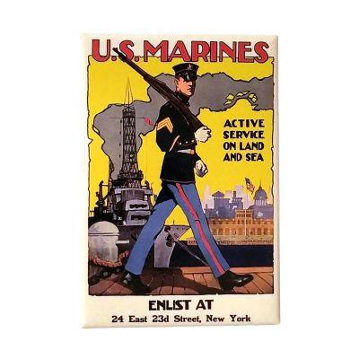 U.S. Marines WWI Poster Magnet