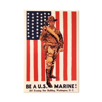 Be a U.S. Marine WWI Poster Magnet