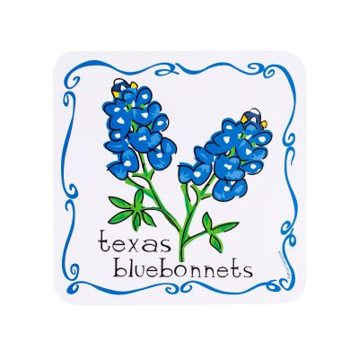 Texas Bluebonnet Coaster Set
