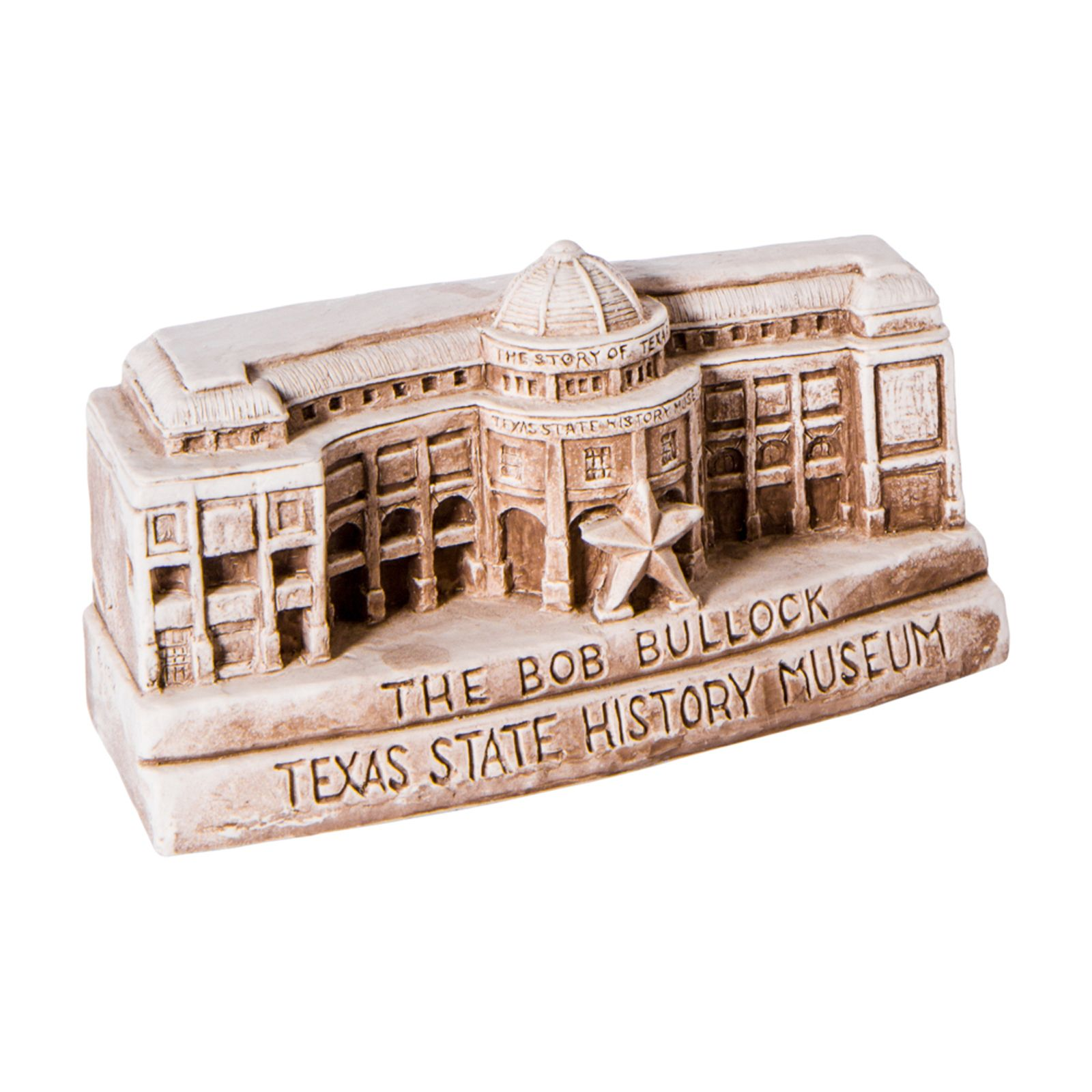 Bullock Museum Small Clay Replica