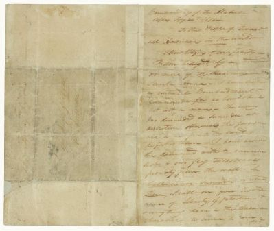Commander William B. Travis Letter from the Alamo to the People of Texas and All Americans (Travis Letter, first page), February 24, 1836