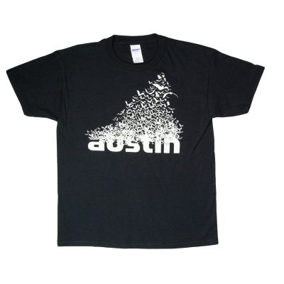 Austin Texas Bats Glow-In-The-Dark Kids T-Shirt