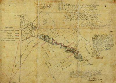 F. Giraud Bexar County Sketch File 36c, 1874