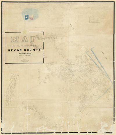 H.L. Upshur Surveys in Bexar County, 1839